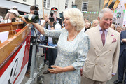 The Prince Of Wales And Duchess Of Cornwall Visit Cornwall And Devon - Day 1