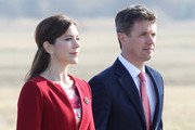 Crown Princess Mary of Denmark and Crown Prince Frederik Of Denmark wait to greet Prince Charles, Prince of Wales at Copenhagen Kastrup Airport on March 24, 2012 in Copenhagen, Denmark. Prince Charles, Prince of Wales and Camilla, Duchess of Cornwall are on a Diamond Jubilee tour of Scandinavia that takes in Norway, Sweden and Denmark.