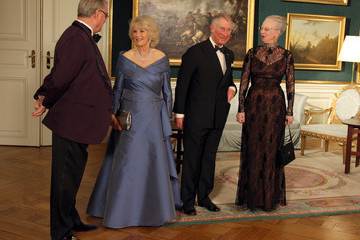 Queen Margarethe II The Prince Of Wales And Duchess Of Cornwall Visit Denmark - Day Three