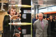 The Prince Of Wales Visit The Whittle Laboratory