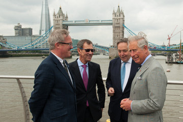 Adrian Evans Prince Of Wales Visits The Avenue Of Sail Ahead Of The Thames Diamond Jubilee Pageant