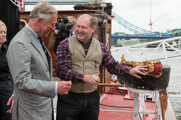 Alan Lamb Prince Of Wales Visits The Avenue Of Sail Ahead Of The Thames Diamond Jubilee Pageant