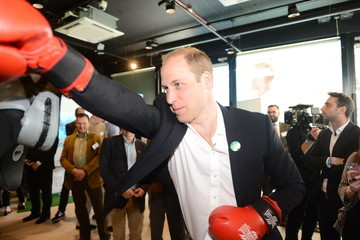 Prince William The Duke and Duchess of Cambridge and Prince Harry Attend the Launch of Heads Together Campaign