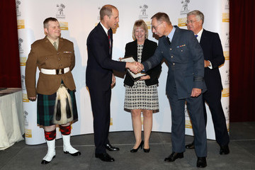 Prince William The Duke of Cambridge Presents MOD Employer Recognition Scheme Gold Awards