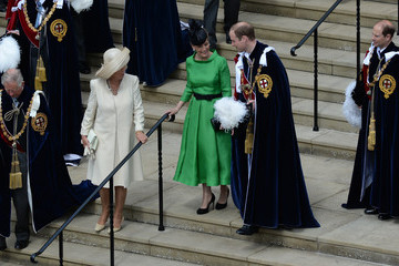 Prince William Countess of Wessex Service of the Order of the Garter
