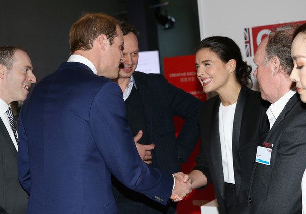 Prince William Prince William, Duke of Cambridge meets singer Jessie Ware at the GREAT Festival of Creativity at the Long Museum on March 2, 2015 in Shanghai, China. Prince William, Duke of Cambridge is on a four day visit to China. He is the most senior royal to visit China since the Queen and Duke of Edinburgh in 1986. His visit follows on from a successful four day visit to Japan