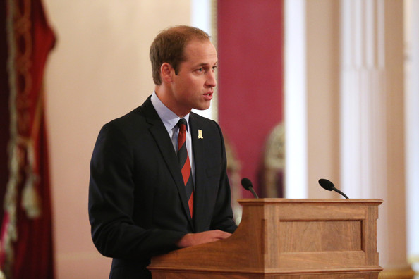Prince William - Football Match Held in Buckingham Palace Gardens