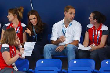 Prince William 20th Commonwealth Games: Swimming