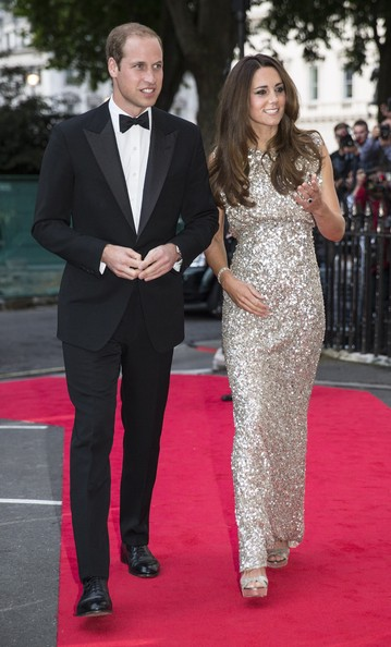 Prince William - Kate Middleton Hits the Red Carpet in Style