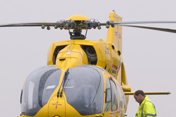 Prince William Duke of Cambridge Begins First Shift As Air Ambulance Pilot