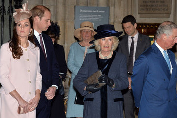 Prince William Prince Charles Commonwealth Service at Westminster Abbey — Part 2