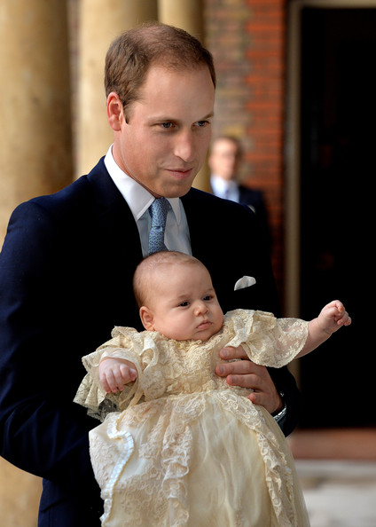 Prince William - Prince George of Cambridge Christened in London — Part 2