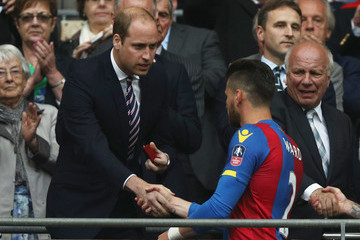 Prince William Manchester United v Crystal Palace - The Emirates FA Cup Final