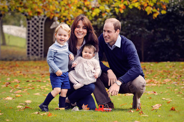 Prince William Royal Family Official Christmas Photo