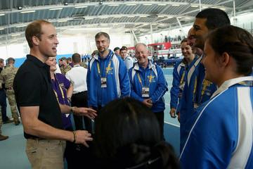 Prince William Royals Meets Volunteers And Athletes At The Invictus Games