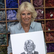 Prince of Wales and Camilla The Duchess Of Cornwall Visits The Royal School Of Needlework