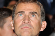 Prince Felipe of Spain attends the 7th International congress for the Victims of terrorism at Ecole Militaire on September 15, 2011 in Paris, France.