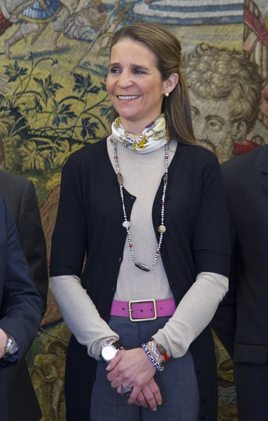 princess elena of spain. Princess Elena of Spain Meets
