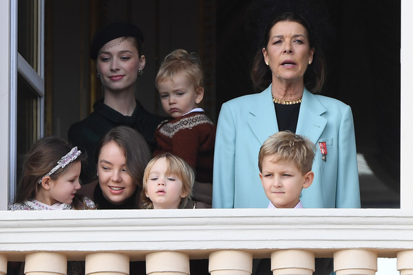 Monaco National Day 2019 [people,facial expression,social group,child,smile,photography,event,family,monaco national day celebrations,monaco,francesco casiraghi,caroline of hanover,alexandra of hanover,beatrice borromeo-casiraghi,children,india casiraghi,stefano casiraghi,alexandre casiraghi]