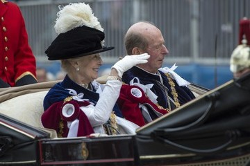 Princess Alexandra The Order of the Garter Service