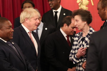 Princess Anne The Duke And Duchess Of Cambridge Host A Reception To Mark The UK-Africa Investment Summit
