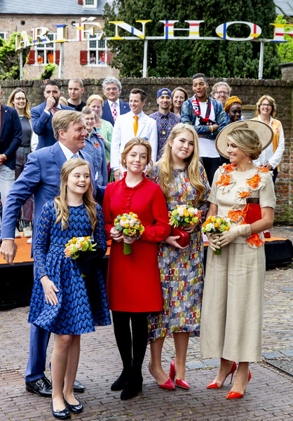 The Dutch Royal Family Attend King's Day In Amersfoort