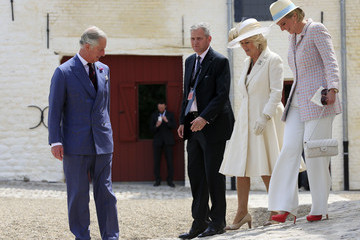 Princess Astrid The Prince of Wales and Duchess of Cornwall Attend the Opening Ceremony of Hougoumont Farm