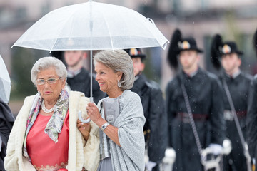 Princess Astrid of Norway The King and Queen of Norway Celebrate Their 80th Birthdays with a Banquet at the Opera House