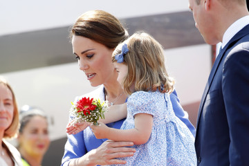 Princess Charlotte of Cambridge The Duke and Duchess of Cambridge Visit Germany - Day 1