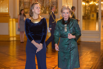 Princess Claire Belgian Royal Family Attends Christmas Concert