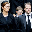 Princess Claire Funeral Of Grand Duke Jean Of Luxembourg