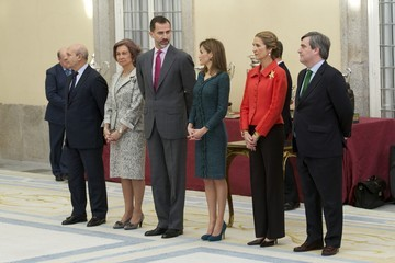 Princess Elena Queen Letizia of Spain Spanish Royals Deliver the National Sports Awards