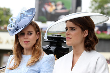 Princess Eugenie Princess Beatrice Royal Ascot 2018 - Day 1