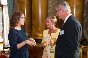 Princess Eugenie Guests Attend the Queen's Awards for Enterprise 2015 Reception