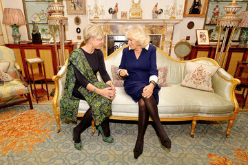 Princess Laurentien Camilla Parker Bowles Meets Princess Laurentien