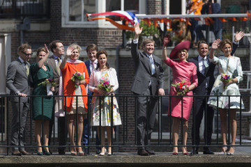 Princess Laurentien Dutch Royal Family Attends King's Day