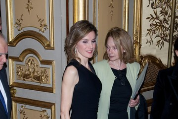 Princess Letizia Spanish Royals Attend a Tribue