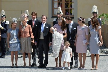 Princess Madeleine Princess Leonore's Royal Christening in Sweden