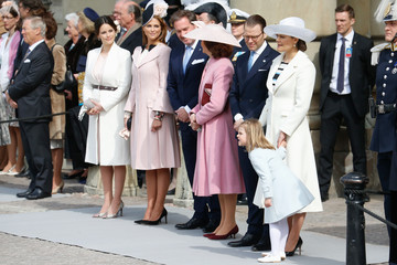 Princess Madeleine The Swedish Armed Forces Celebration - King Carl Gustaf of Sweden Celebrates His 70th Birthday