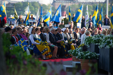 Princess Madeleine Queen Silvia National Day Celebrations In Sweden 2015