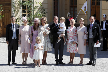 Princess Madeleine Christening  Of Princess Adrienne Of Sweden