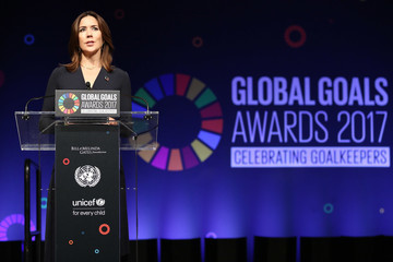 Princess Mary Goalkeepers: The Global Goals Awards 2017