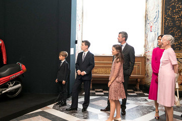 Princess Mary Portrait Unveiling And Exhibition Opening At Frederiksborg Palace