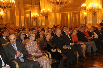 Princess Mathilde King Albert II Belgian Royal Family Reception For Country Officials