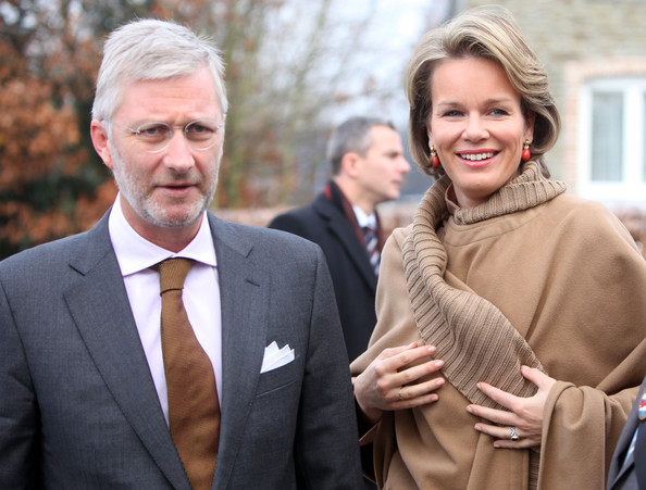 Prince Philippe And Princess Mathilde Of Belgium Visit Luxembourg [ferme du monceau,human,smile,event,photography,white-collar worker,gesture,family pictures,businessperson,mathilde of belgium,philippe,luxembourg,belgium,neufchateau,visit]