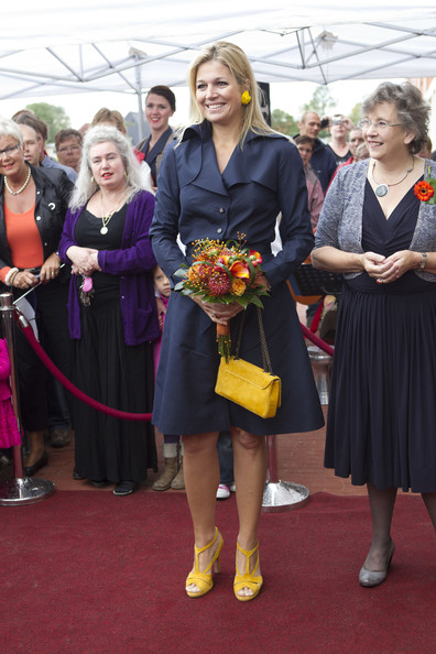 Princess Maxima Princess Maxima of The Netherlands opens the domestic violence 'Oranje Huis' women's shelter on August 30, 2011 in Alkmaar, Netherlands.