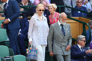 Princess Michael of Kent Day Thirteen: The Championships - Wimbledon 2018