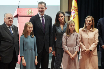 Princess Sofia Spanish Royals Attend The Lecture Of The Constitution On Its 40th Anniversary