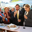 Princess Stephanie of Luxembourg Luxembourg Celebrates National Day - Day One