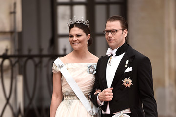Princess Victoria Ceremony And Arrivals: Wedding of Prince Carl Philip of Sweden and Sofia Hellqvist